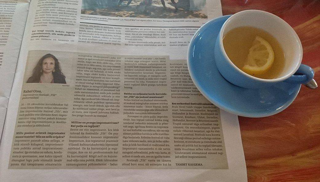 Meedias. Sirp. 14.10.2016 artikkel